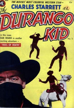 DURANGO KID Number 5 Western Comic Book