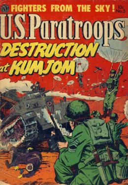 US Paratroops Number 5 War Comic Book