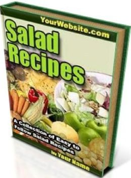CookBook eBook on Salad Recipes - SALADS IN THE DIET...