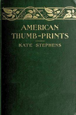 AMERICAN THUMB-PRINTS, Mettle Of Our Men And Women