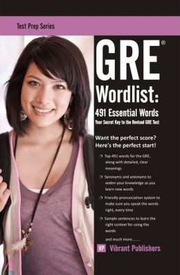 GRE Word List: 491 Essential Words