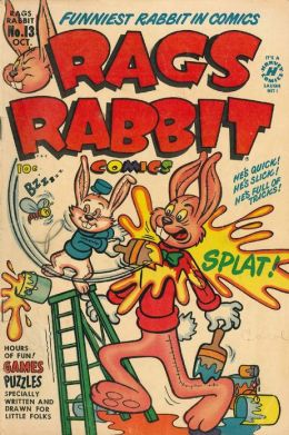 Rags Rabbit Number 13 Childrens Comic Book