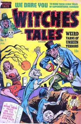 Witches Tales Number 1 Horror Comic Book