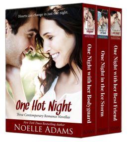 One Hot Night: Three Contemporary Romance Novellas