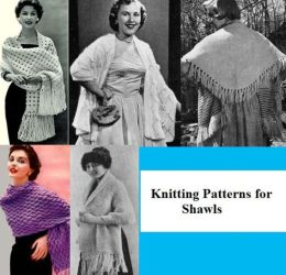 Knitting Patterns for Shawls