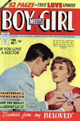 Boy Meets Girl Number 1 Love Comic Book