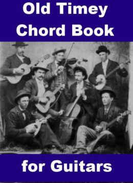 Old Timey Chord Book for Guitars