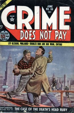 Crime Does Not Pay Number 99 Crime Comic Book