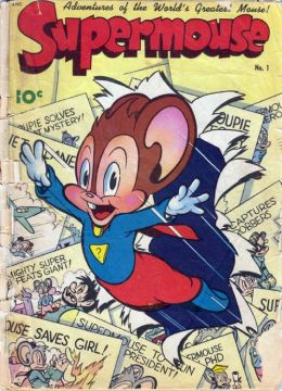 SuperMouse Number 1 Childrens Comic Book