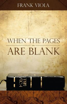 When the Pages Are Blank: How to Bring the Bible Back to Life