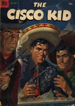Cisco Kid Number 15 Western Comic Book
