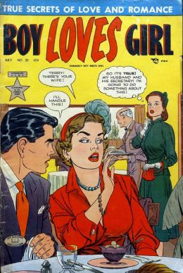 Boy Loves Girl Number 25 Romance Comic Book