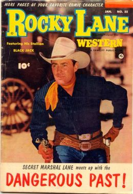 Rocky Lane Number 55 Western Comic Book