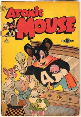 Atomic Mouse Number 2 Childrens Comic Book