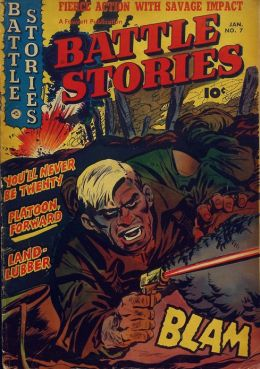 Battle Stories Number 7 War Comic Book