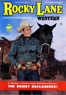 Rocky Lane Number 22 Western Comic Book