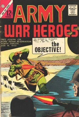 Army War Heroes Number 2 War Comic Book