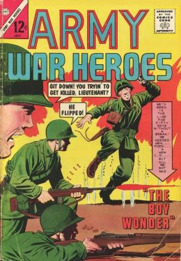 Army War Heroes Number 4 War Comic Book