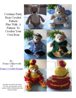 4 Bear Costumes for 16