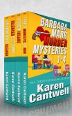Book Cover Image. Title: Barbara Marr Mysteries Boxed Set, Author: Karen Cantwell