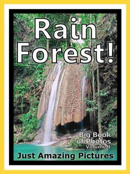 Just Rainforest Photos! Big Book of Photographs & Pictures of Rain Forests, Vol. 1