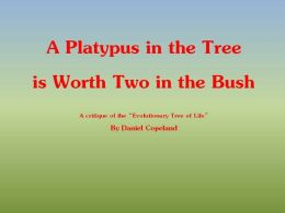 A Platypus in the Tree is Worth Two in the Bush