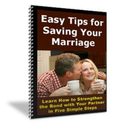 Easy Tips for Saving Your Marriage