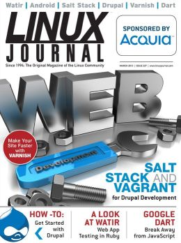 Linux Journal March 2013