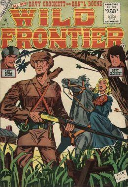 Wild Frontier Number 3 Western Comic Book