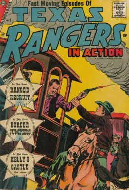 Texas Rangers in Action Number 9 Western Comic Book
