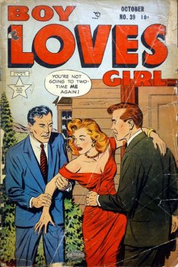 Boy Loves Girl Number 39 Romance Comic Book