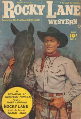 Rocky Lane Number 2 Western Comic Book