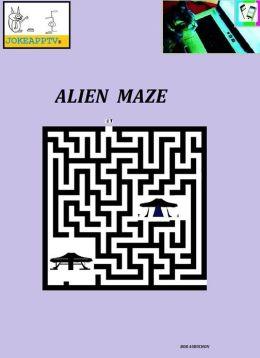 JokeAppTv's Alien Maze Book