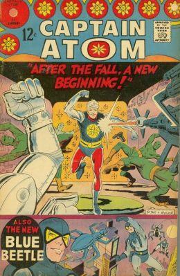 Captain Atom Number 84 Super-Hero Comic Book