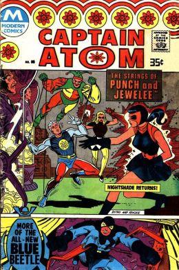 Captain Atom Number 85 Super-Hero Comic Book