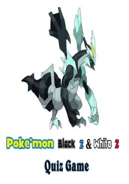 Pokemon Black 2 & White 2 Quiz Game