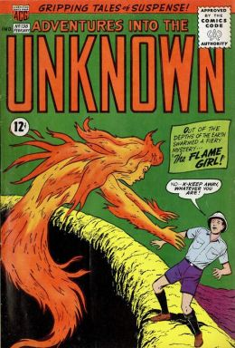Adventures into the Unknown Number 138 Horror Comic Book