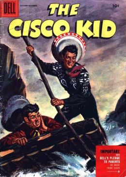 Cisco Kid Number 29 Western Comic Book