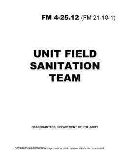 Unit Field Sanitation Team