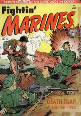 Fightin Marines Number 15 War Comic Book