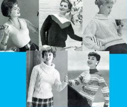 Don't You Just Love Sweaters? Knitting Patterns for Woman's Sweaters