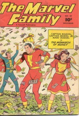 Marvel Family Number 29 Superhero Comic Book