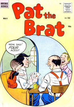 Pat the Brat Number 32 Childrens Comic Book