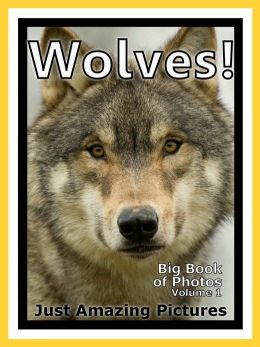 Just Wolf Photos! Big Book of Photographs & Pictures of Wolves, Vol. 1