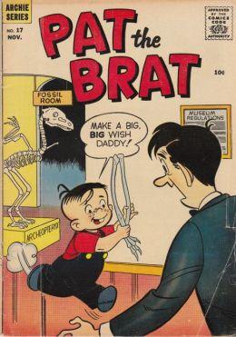 Pat the Brat Number 17 Childrens Comic Book