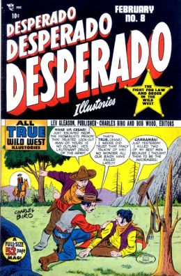 Desperado Number 8 Western Comic Book