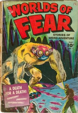 Worlds of Fear Number 6 Horror Comic Book