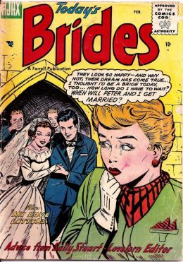 Todays Brides Number 2 Love Comic Book