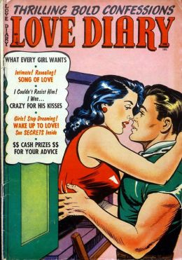 Love Diary Number 44 Romance Comic Book