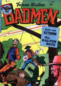 Famous Western Badmen Number 15 Western Comic Book